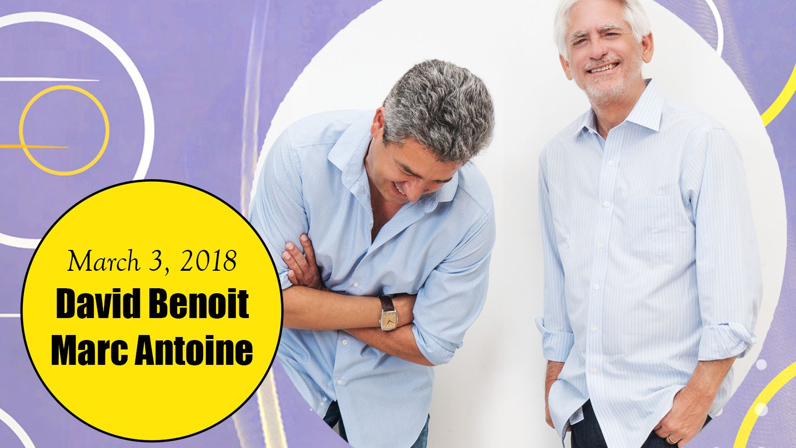 Palm Springs Jazz Series - David Benoit & Marc Antoine