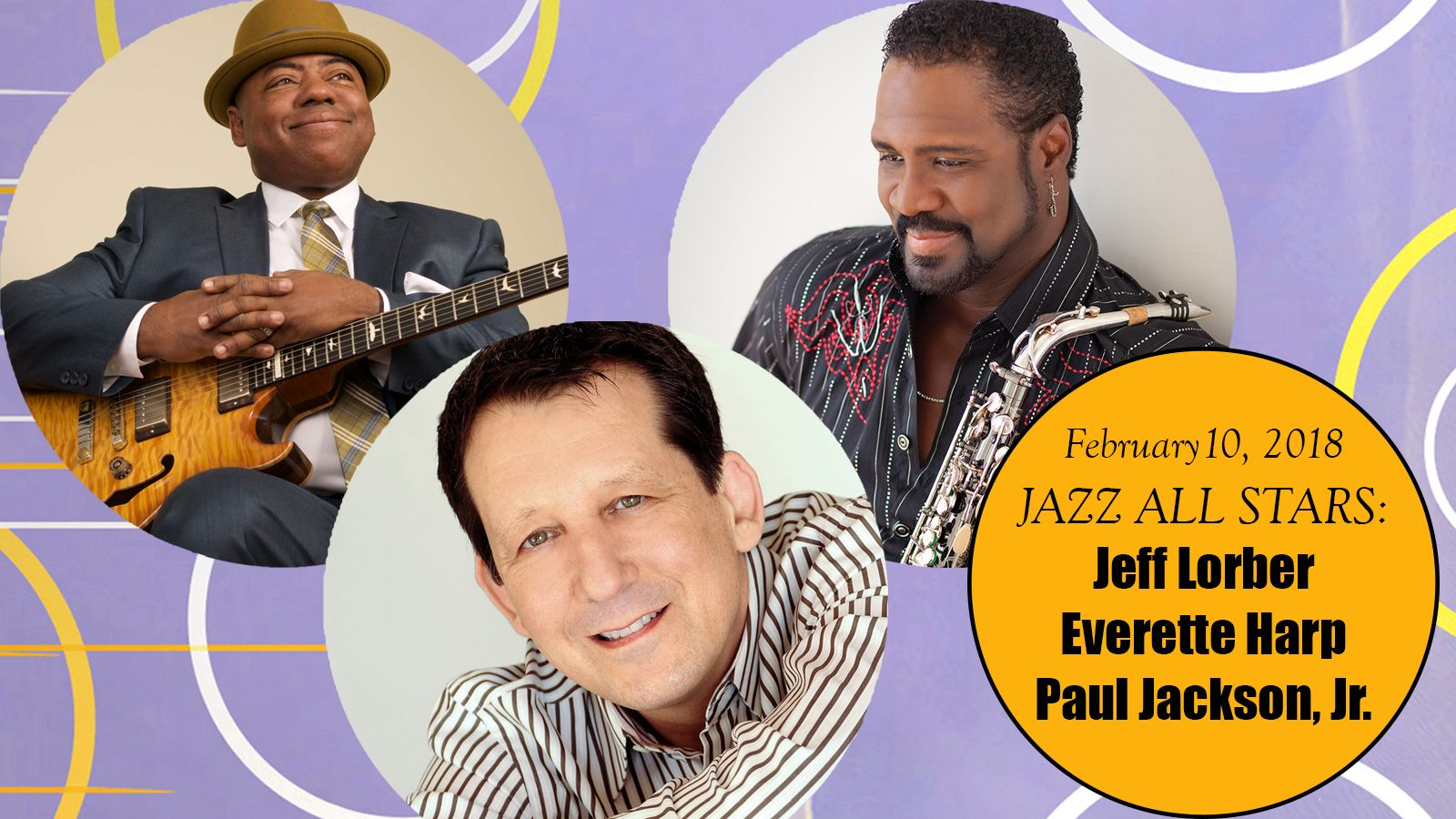 Palm Springs Jazz Series - Jeff Lorber, Everette Harp & Paul Jackson