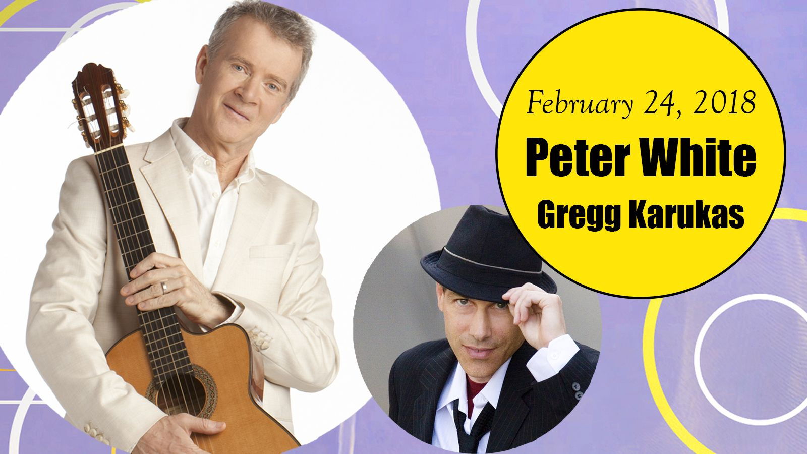 Palm Springs Jazz Series - Peter White with Gregg Karukas